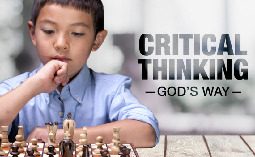 Critical Thinking God's Way
